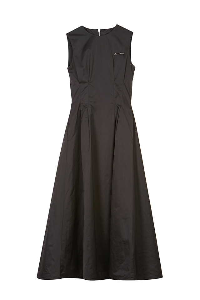 (주문제작) BACK CROSSED MAXI DRESS