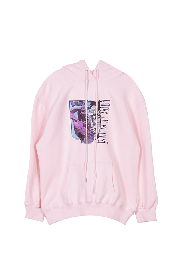 (SALE 60%) A.I.C PRINTED JERSEY HOODIE